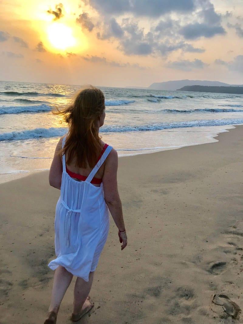 Yoga Teacher Training India - Lisa Edwards