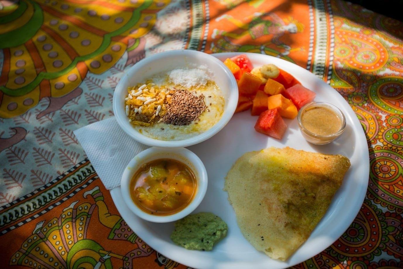 Yoga TTC in India - Vegan Food